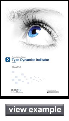 Types Dynamic Indicator sample report