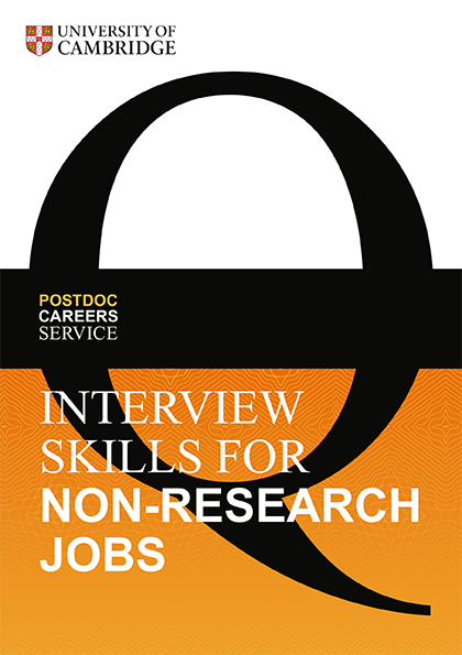 Interview Skills for Non-Research Jobs