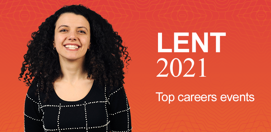 Lent 2021 - top careers events