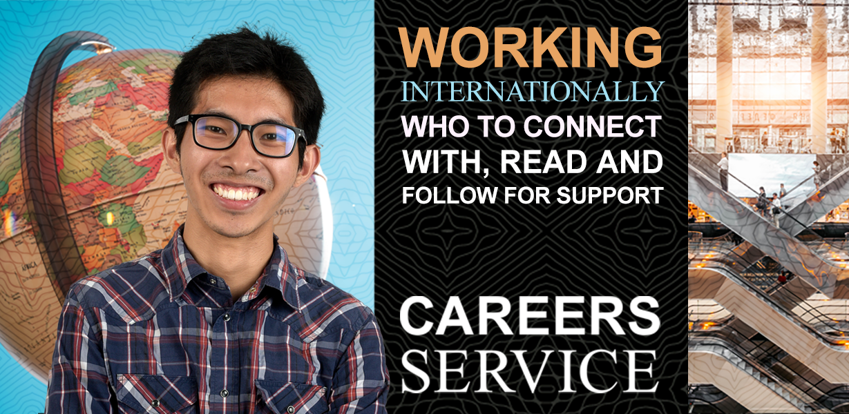 Working internationally: who to connect with, read and follow for support
